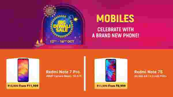 Flipkart Big Diwali Sale On Xiaomi Redmi Smartphones On Sale