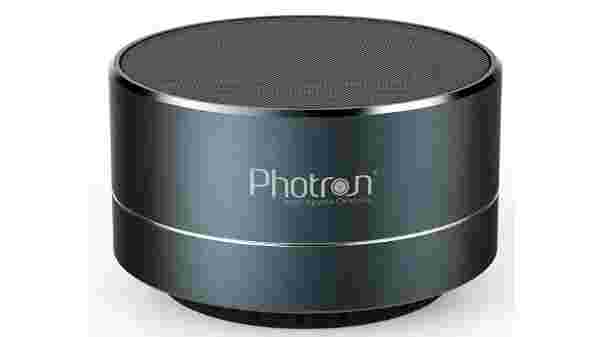 Photron P10 Wireless Super Bass Mini Metal Aluminium