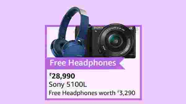Sony 5100L (Offer: Free Headphones)