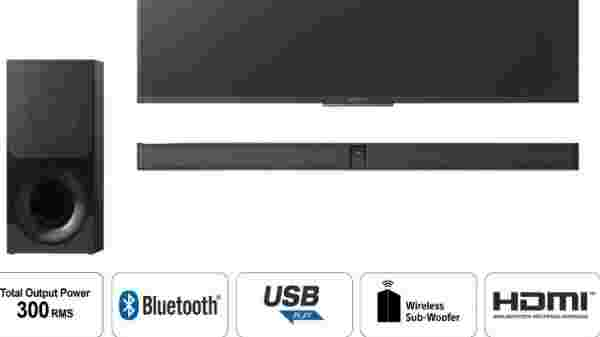 Sony CT-290 Dolby Digital 300 W Bluetooth Soundbar