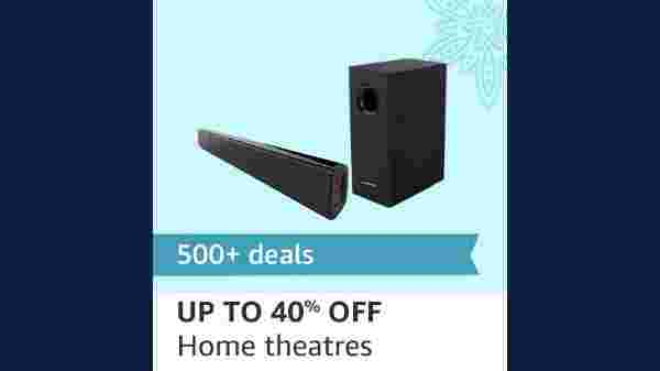 Up To 40% Off On Home Theaters