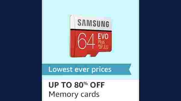 Up To 80% Off On Memory Cards