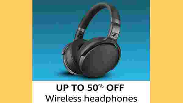 Up To 50% Off On Wireless Headphones