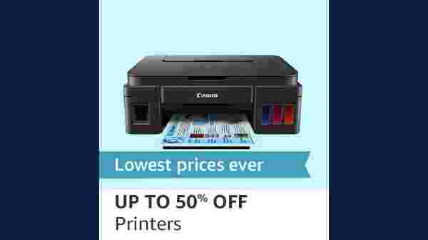 Up To 50% Off On Printers