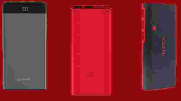 10000mAH Power Banks Starting Rs 499