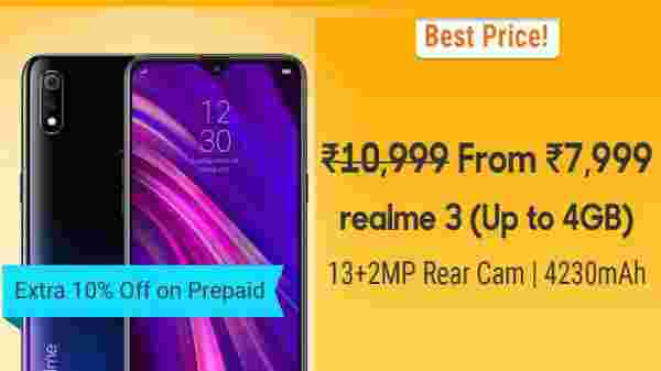 27% Off On Realme 3