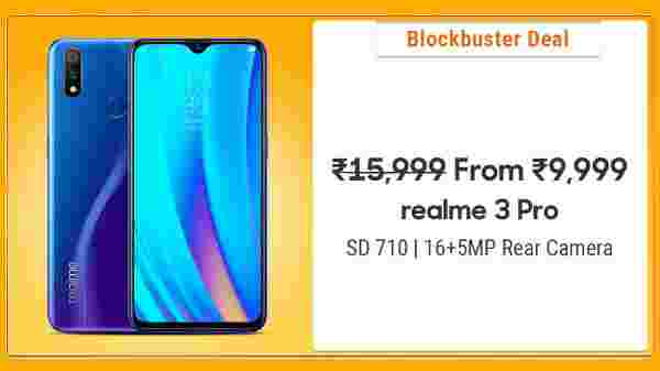 37% Off On Realme 3 Pro
