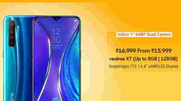 5% Off On Realme XT
