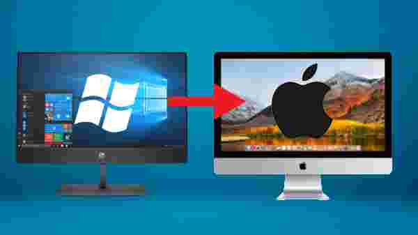 Transferring files from PC to Mac: