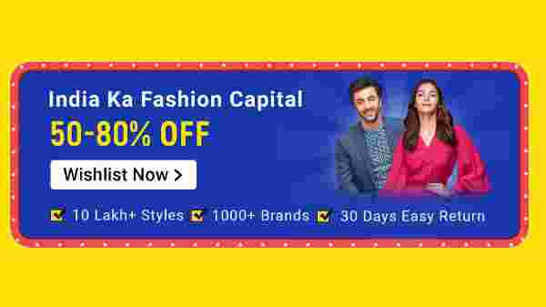 Up To 50 To 80% Off On Fashion Capitals
