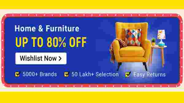 Up To 80% Off On Home And Furniture