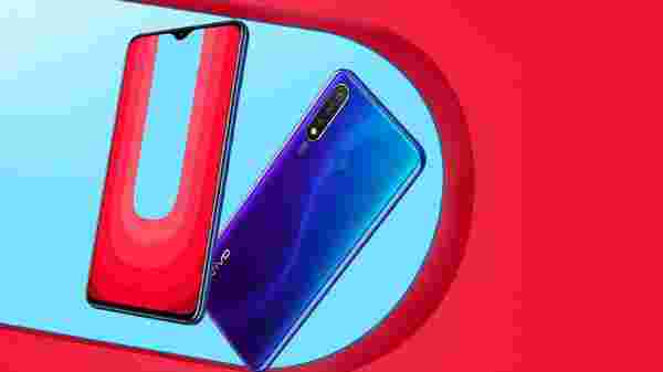 New launch of Vivo U20.  First Flash Sale On 28th Nov At 12 PM
