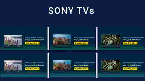 Up To 45% Off On Sony TVs