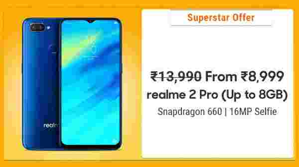 35% Off On Realme 2 Pro