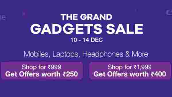 Paytm Mall Grand Gadget Sales