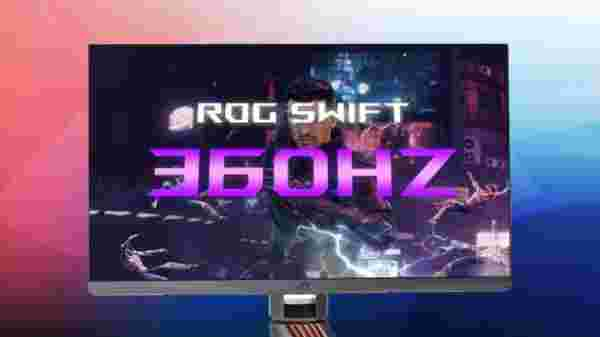 ASUS ROG Swift 360 world's first 360Hz Gaming Monitor