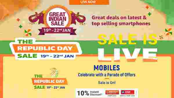 Best Selling Samsung Smartphones On Sale At Flipkart Republic Day