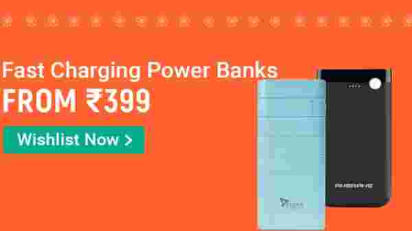 Fast Charging Power Banks From Rs 399