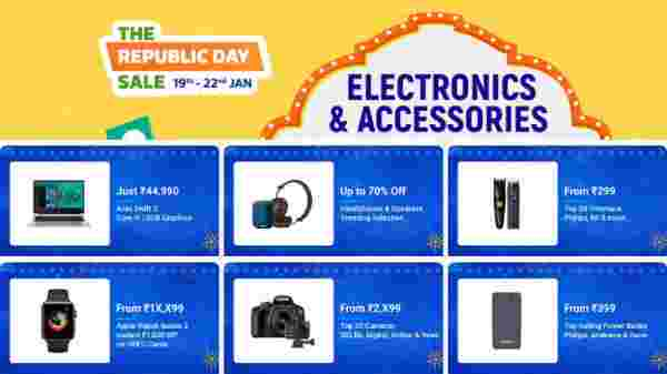 Flipkart The Republic Day Sale Offers
