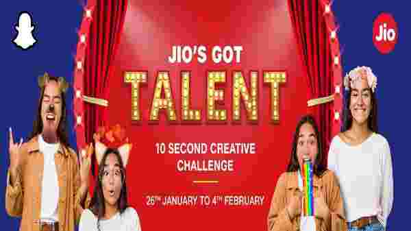 Snapchat For Jio's Got Talent