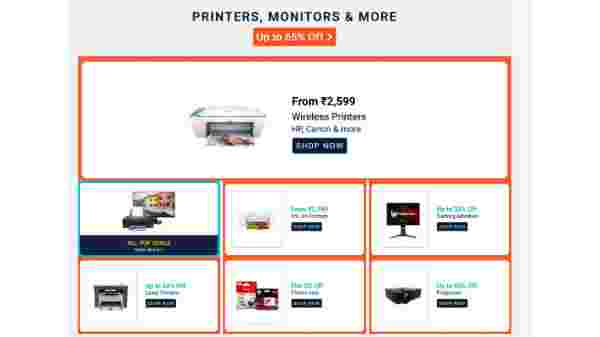 Printers Starts From Rs 2,799