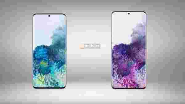 Samsung Galaxy S20, Galaxy S20 Plus Offical Renders Leak