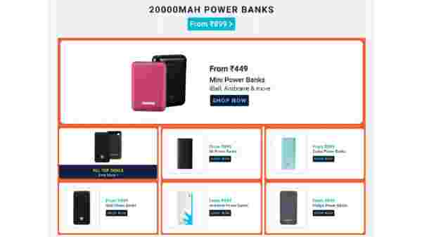 Starts From Rs 899 On 20000 mAh Battery Power Banks