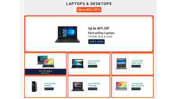 Up To 40% Off On Laptops And Desktops