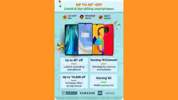 Up to 40% Off on Top Selling Smartphones