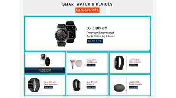Up To 50% Off On Smartwatch And Devices