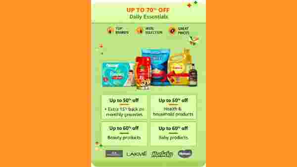 Up to 70% Off on Daily Essential
