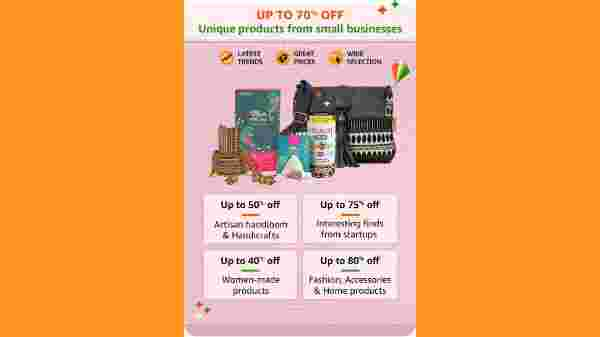 Up to 70% Off On Unique Products