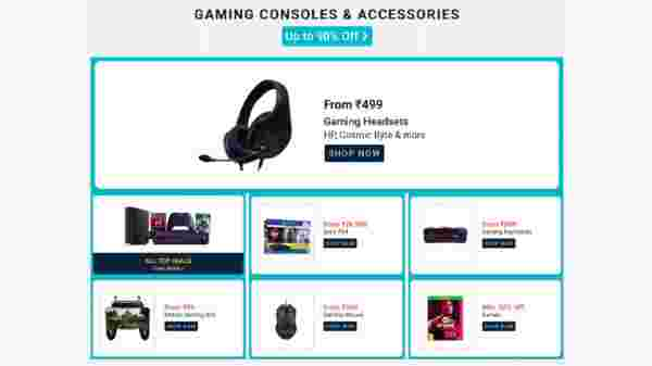 Up To 90% Off On Gaming Consoles And Accessories