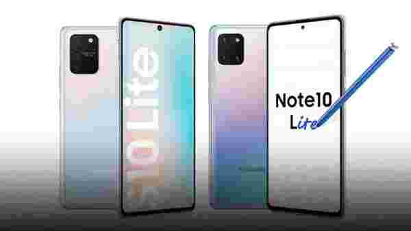 Samsung Galaxy S10 Lite Vs Galaxy Note 10 Lite: Hardware And Software