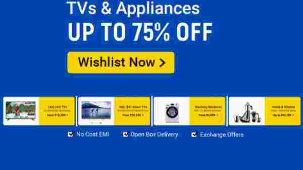 Up to 75% Off On TVs And Appliances