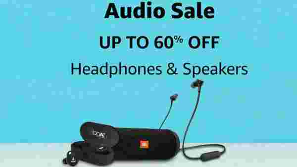 Up To 60% Off On Audio Gadgets, Speaker, Headphones and More