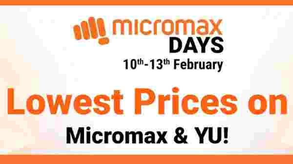 Flipkart Micromax Day Sale: Discounts Offers On Micromax Phones