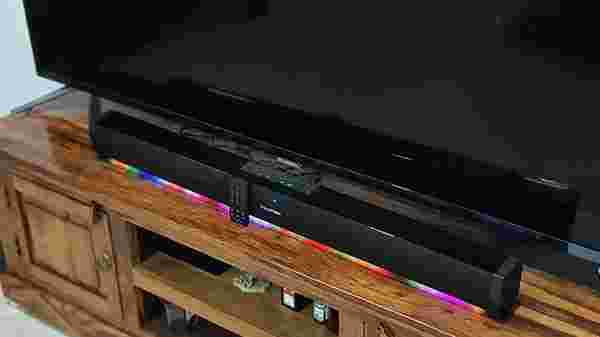 Linear Soundbar Fits in Perfectly With A 50 to 55-inch Smart TV Setup