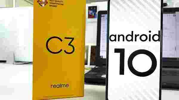 Realme C3 With Triple Rear Cameras