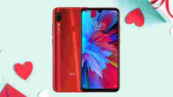 Redmi Note 7S (Ruby Red, 64 GB)  (4 GB RAM)