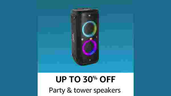 Up To 30% Off On Party And Speaker