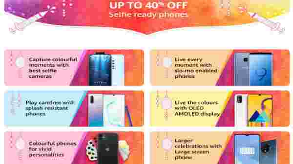 Up To 40% OFF On Smartphones