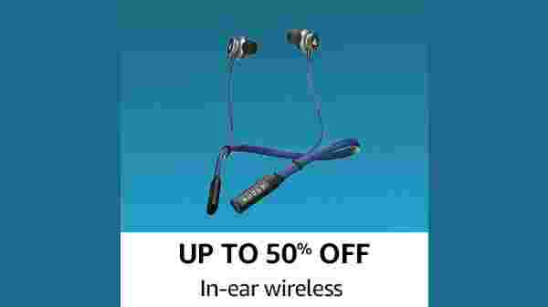 Up To 50% Off In-Ear wireless