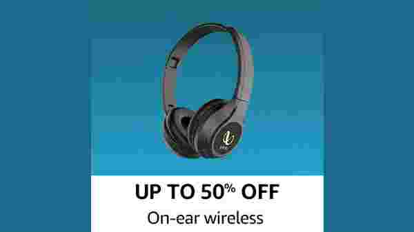 Up To 50% Off On-Ear wireless