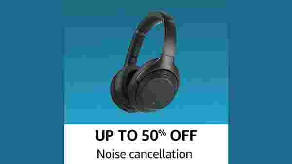 Up To 50% Off On Noise cancellation