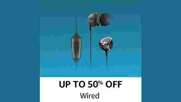 Up To 50% Off On Wired