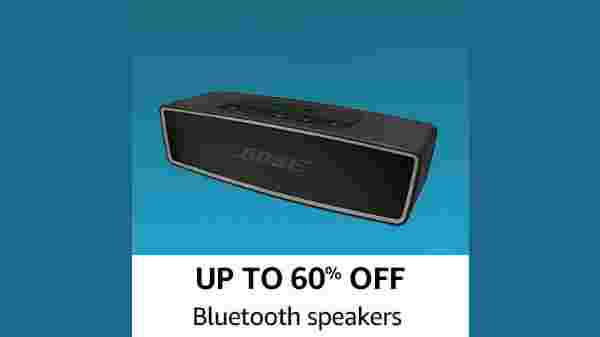 Up To 60% Off On Bluetooth Speaker