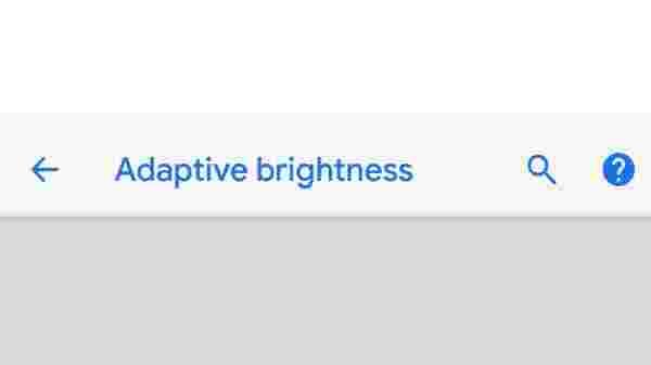 5) Use adaptive brightness to adjust screen light