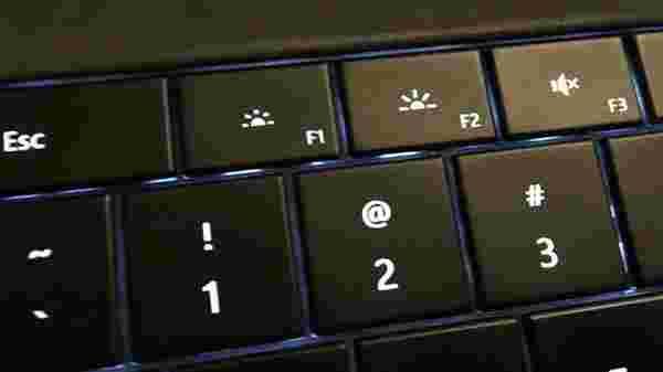 4) Using keyboard adjust brightness on PC