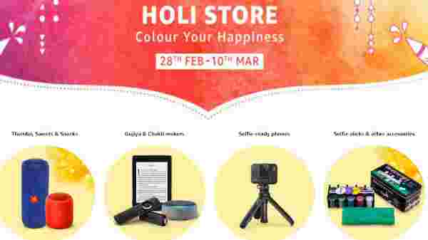 Amazon Holi Days Offers On Budget Smartphones